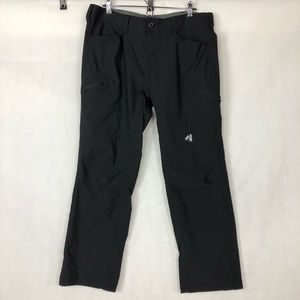 Eddie Bauer Black First Ascent Guide Pro Pants, 36